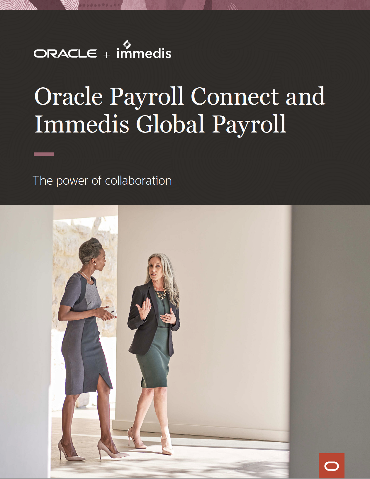 Oracle Payroll Connect and Immedis